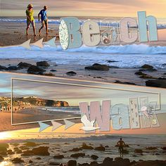 Pocket Alpha 1 and 2 (upper and lower case) by LJS Digital Designs at http://www.mscraps.com/shop/LJSdigitaldesigns/?treemenu=y Kit: By the Sea by Kimeric Kreations Template: Pixels2Pages blueprint called By Land or By Sea by Tameka Bond plus a few beach freebies to help fill the alpha pockets.