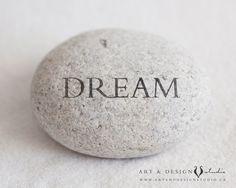 Dream Inspirational Print Positive Artwork by inspiredartprints, $25.00