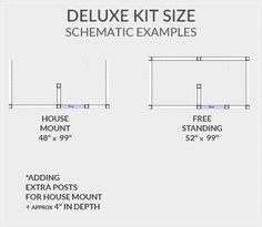 shower kit plans