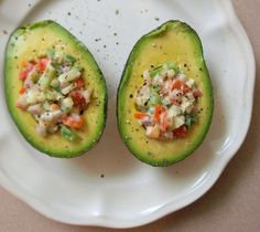 RAW VEGAN RECIPE: Stuffed Avocados - Liver Cleansing Diet Recipes for a Happy Healthy Liver - Love Your Liver Live Longer - Happy Liver Flushing! - I LIVER YOU