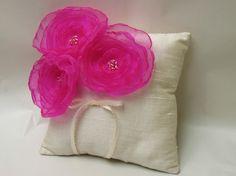 Silk Ring Bearer Pillow - $50.00
