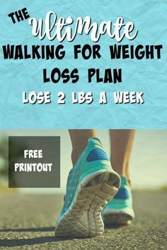 Walking to lose weight- 2lbs a week!