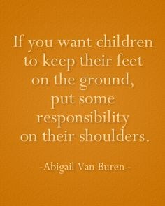 You'll never make them grown ups by babying them.