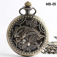 New Classic Steampunk Mechanical Brozen Mens women pocket watches ,Hollow Eagel mechanical pocket Alternative Measures