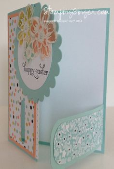 Sweet Sorbet Buckle Card - Ginger Rabesa