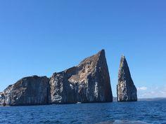 Leon Dormido, Santa Cruz Island, Galapagos, Ecuador - It's one of the best places to snorkeling in Galapagos Islands #blue