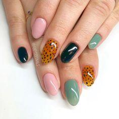 nail designs nail designs hansen chrome nail makeup and nail makeup ten nail & makeup studio klang nail art nailart nail designs nail art designs Minimalist Nails, Cheetah Nails, Leopard Nail Art, Floral Nail Art, Ten Nails, Nail Games, Games Makeup, Makeup Ideas, Painted Nail Art