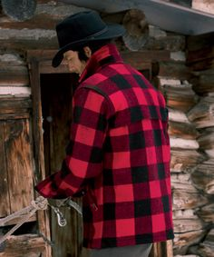 Woolrich As We Know It Buffalo Plaid Wool Pure