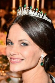 Princess Sofia at the Nobel Peace Prize dinner December 10th 2015