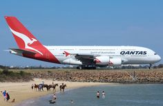 "Qantas Airbus A380-842 VH-OQK ""John and Reginald Duigan"" on the taxiway at Sydney-Kingsford Smith."