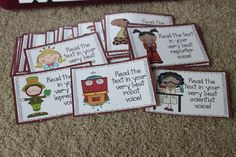 Talking the Talk cards---Great way to making reading fun!