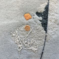 . bioetie //Grey with orange spot by Richard Mc Vetis