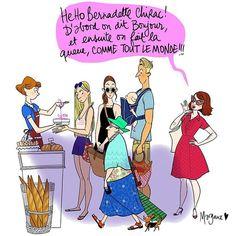 La politesse... tout ça tout ça ... #illustration #margauxmotin #lafemmeparfaiteestuneconnasse2