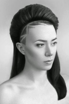 TRENDY Hair Tattoos and Designs!