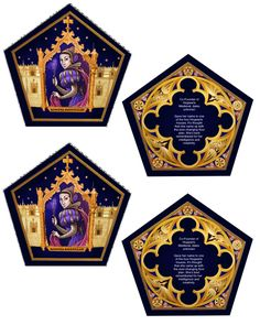 The Empty Suitcase: Chocolate Frog Cards