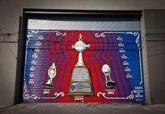 La Copa Libertadores ya es un mural en Boedo Installation Street Art, People Art, Graffiti, 1, Painting, Design, Home Decor, Sweet, Breakfast Nook