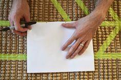 DIY Herringbone   Chevron Rug   Delta Touch2O