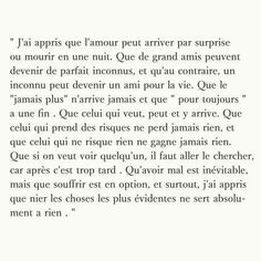 Franch Quotes QUOTATION – Image : As the quote says – Description Texte anonyme Sharing is love, sharing is everything Sunday Quotes, Mood Quotes, Life Quotes, Deep Texts, How To Speak French, French Quotes, Sad Love, Some Words, Powerful Words