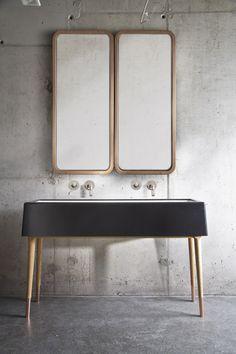 Geef je badkamer een update met koperkleurige accenten - Roomed