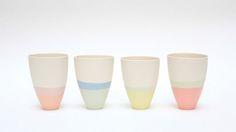 pastel tableware | utile - yokohomareda | Ceramics | Pinterest