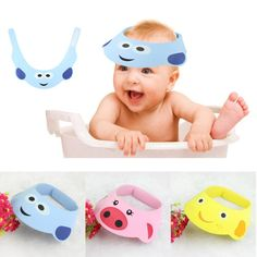 free shipping hat 2016 New For Baby Adjust Shampoo Shower Bathing Bath Protect Soft Cap Hat baby bonnet kids hats gorros
