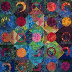 Love this!! quilt by Sondra Hassan.