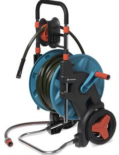 Hose Reel Cart - Garden Hose Reel Cart - Hose Caddy - Hose Trolley