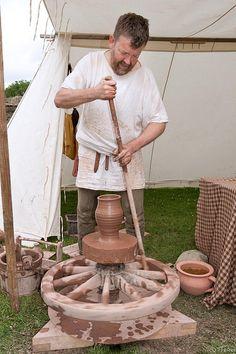 Pottery - Medieval Arts & Crafts @ Rievaulx Abbey by tricky (rick harrison), via Flickr