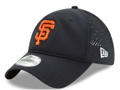 New Era MLB PERF PIVOT 2 San Francisco Giants Baseball Cap Black/Orange 80470436