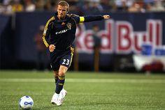 David Beckham a ensuite poursuivi sa carrière professionnelle avec les Los Angeles Galaxy, de 2007 à 2013.