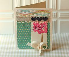 Tag Friend Card by Danielle Flanders for Papertrey Ink (July 2012)
