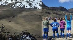 30 Women Climb #Kilimanjaro To Play Match At Record-Setting #Altitude. #womenssoccer #soccerfields #soccergame #soccermatch #soccer #futbol
