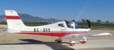 flying tecnam totana Spain