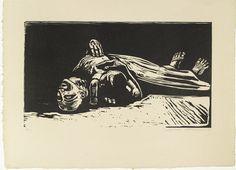 Käthe Kollwitz (German, 1867-1945)  The Widow II (Die Witwe II) (plate 5) from War (Krieg)