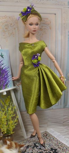 Parterre for Poppy Parker OOAK Doll Fashion by MatisseFashions
