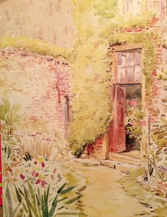Beatrix Potter - reminds me of my favorite book, The Secret Garden.