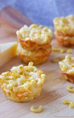 mac & cheese bites (my friend makes these and they're amazing!)