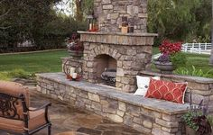 Covered Deck with Fireplace | Outdoor Deck Fireplaces | Creative Fireplaces Design Ideas