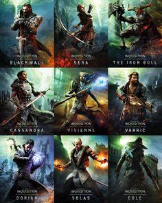 Dragon Age Inquisition - All the Companions