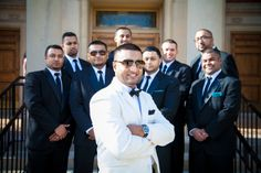 Groom with groomsmen. Shot by REM Photographer Izabela Mazur. www.remvp.com