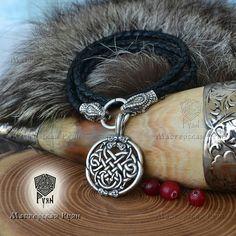 #Viking #Jörmungandr #Necklace #Leather #cord #Snake #vikings #vikingjewelry #vikingmerch
