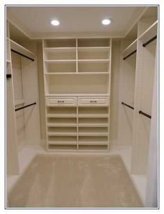 5 X 6 Walk In Closet Design: