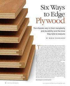 ISSUU - Six ways to edge plywood by Free publisher