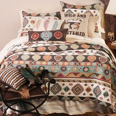 Wild and Untamed Quilt                                                                                                                                                                                 More