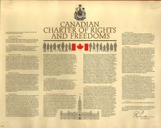 Looking for a Printable Copy Of Charter Of Rights And Freedoms. We have Printable Copy Of Charter Of Rights And Freedoms and the other about Printable Chart it free. Tax Lawyer, War Pigs, Bill Of Rights, Canadian History, Citizenship, Good Company, Constitution, Bulletin Board, Teacher Resources