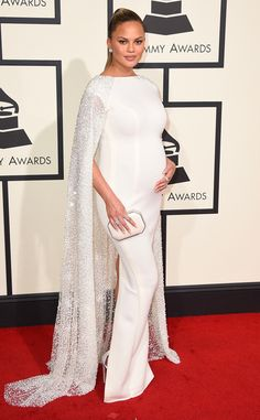Miss Maternity: Chrissy Teigen's Best Looks