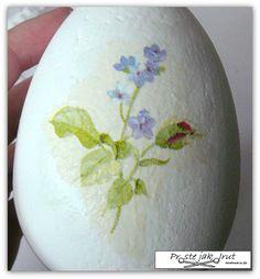 Proste jak drut: Decoupage na jajkach - krok po kroku