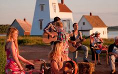 Enjoy a Ceilidh at the Irish Hall on PEI in May (link is just for a ferry but I would like to witness this kind of scene! Prince Edward Island, Small Island, Irish, Scene, Activities, Explore, Vacation, Link, Vacations