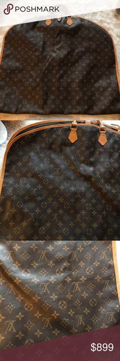 0a73aa6014c0 Louis Vuitton Garment Luggage Monogram Travel Bag