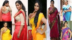 ACTRESS JAYAVANI HOT,SEXY&SPICY NAVEL SHOW MOMENTS IN SAREE|TELUGU ACTRE...
